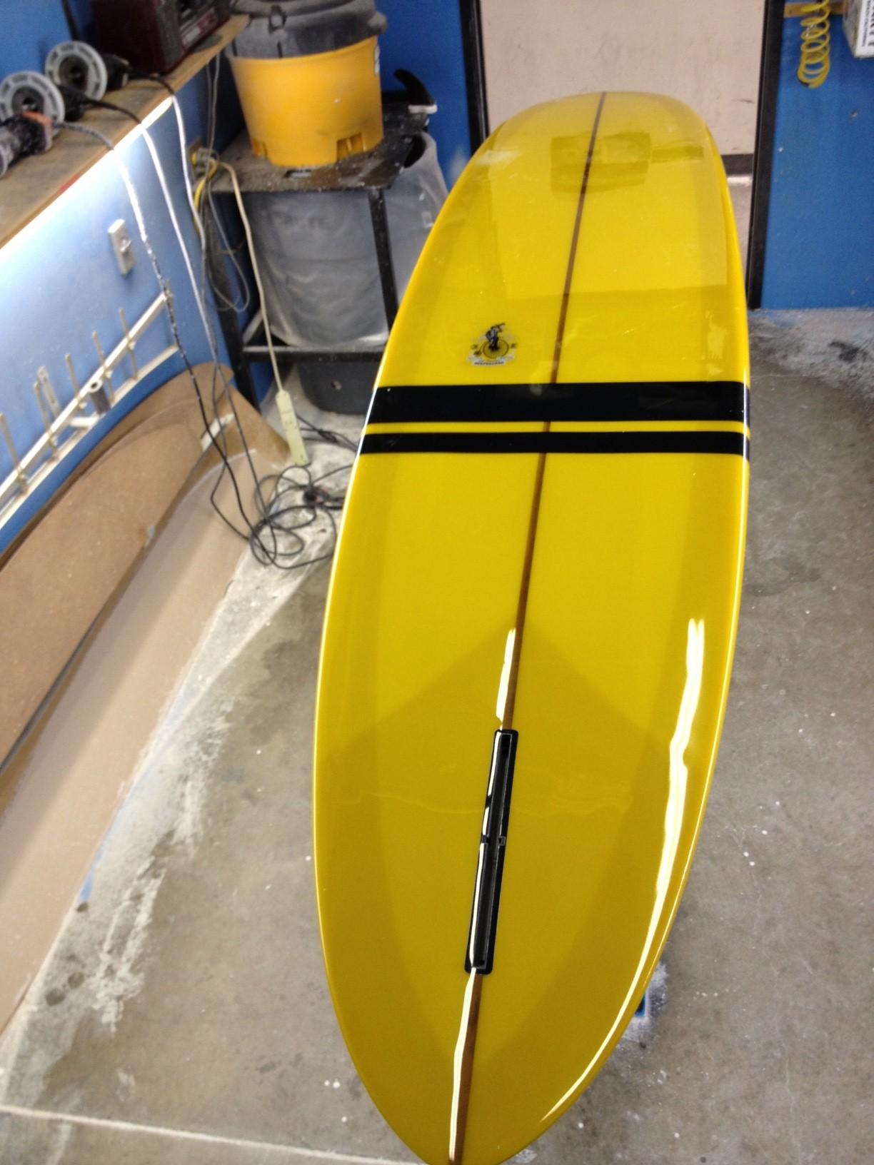Daddy O Custom EC Surfboard Handmade in Orange County, CA USA