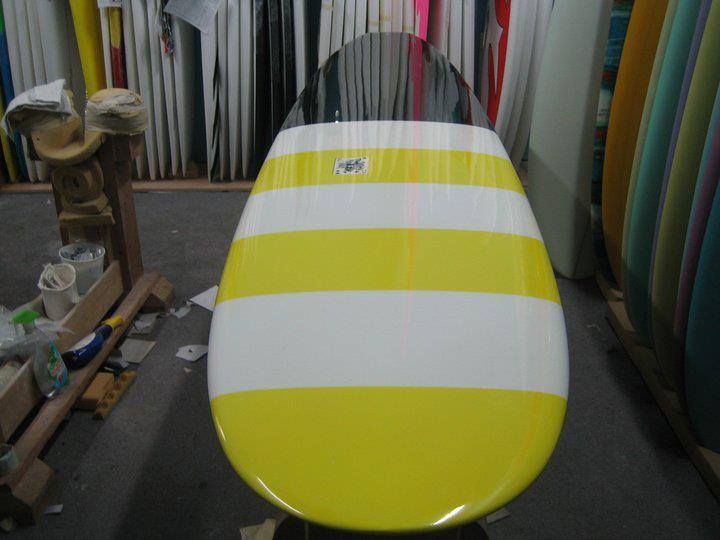 Mod Sled Custom EC Surfboard Handmade in Orange County, CA USA